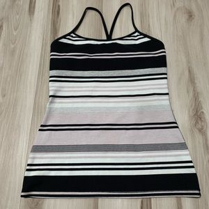 Lululemon Athletica Striped Tank
